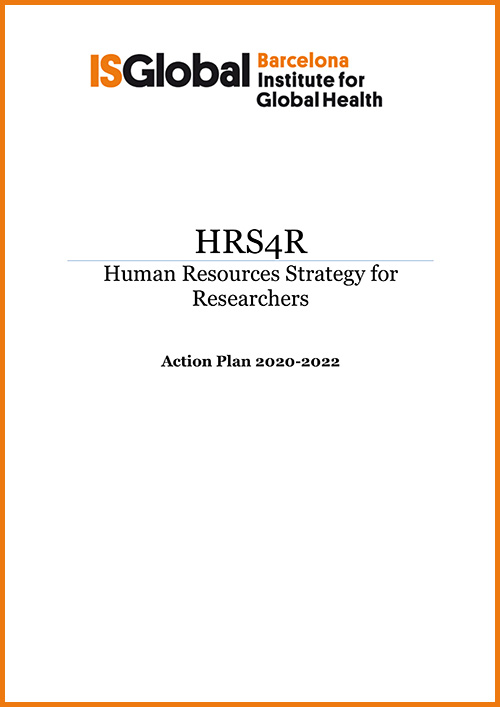 HRS4R Action Plan 2020-2022