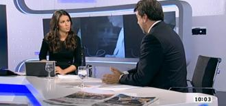 Pedro Alonso on Spanish TV programme <em>Los desayunos de TVE</em>