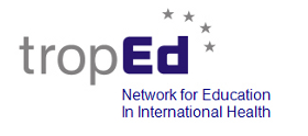 Logo of tropEd Network for Education in International Health