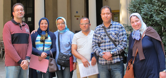 Moroccan Researchers Visit ISGlobal for Training