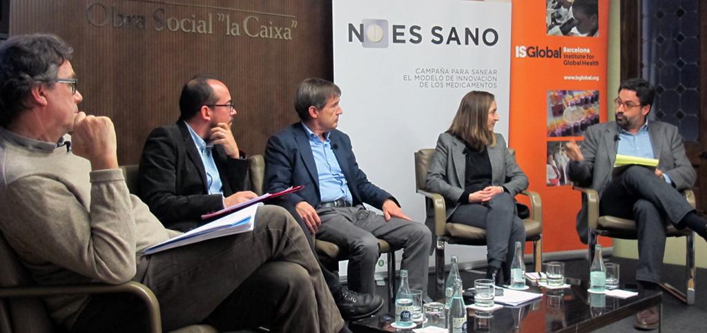 No Es Sano exige un nuevo modelo de innovación farmacéutico para asegurar el acceso universal a los medicamentos