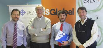 Signing of SUMA Agreement Between ISGlobal, CRESIB and CREAL
