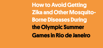 Zika and the Olympic Games in Rio de Janeiro