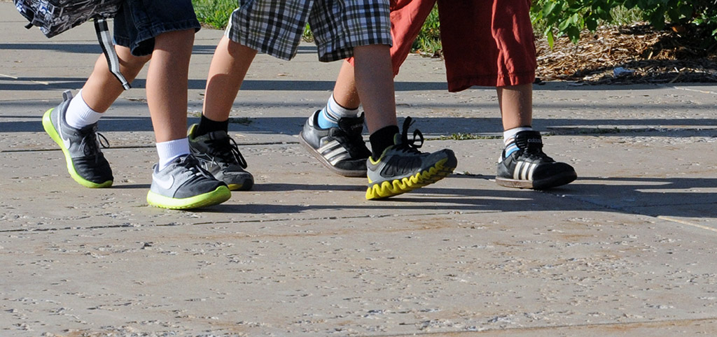 Air Pollution Exposure on Home-to-School Walking Routes Reduces the Growth of Working Memory in Children