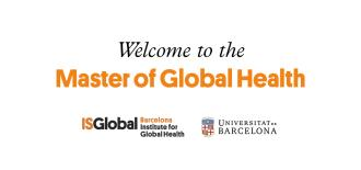 Welcome to the Master of Global Health