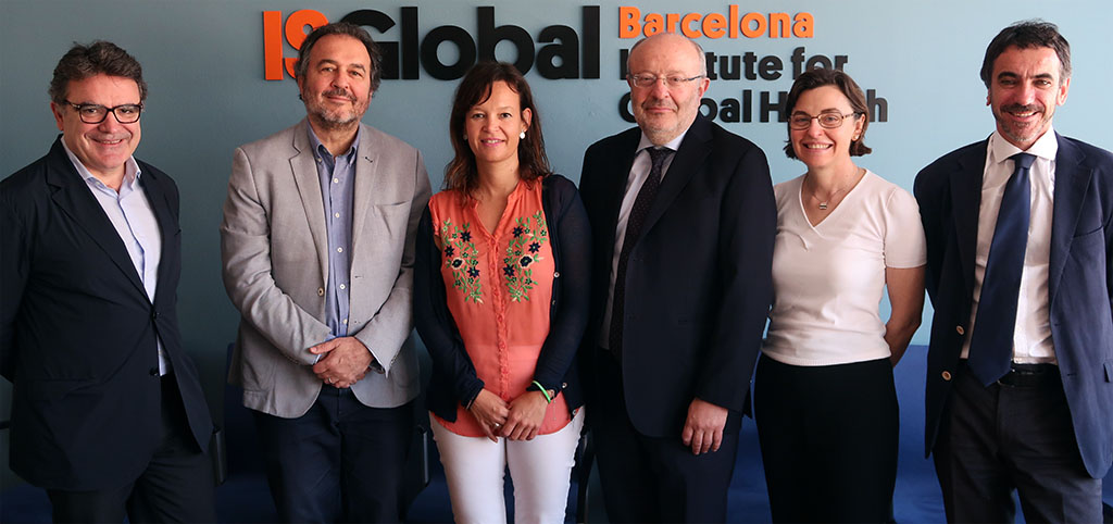 The Spanish Secretary of State for International Cooperation visits ISGlobal