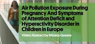 Study about Prenatal Exposure to Air Pollution and Symptoms of Attention-Deficit and Hyperactivity