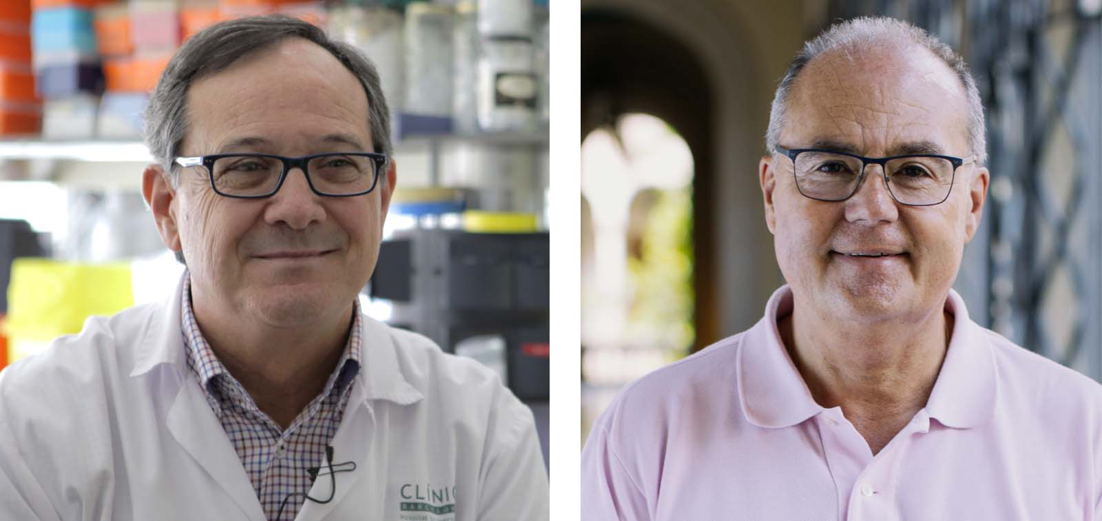Jordi Vila is the new president of the SEIMC and Antoni Trilla, new dean of the Faculty of Medicine of the University of Barcelona