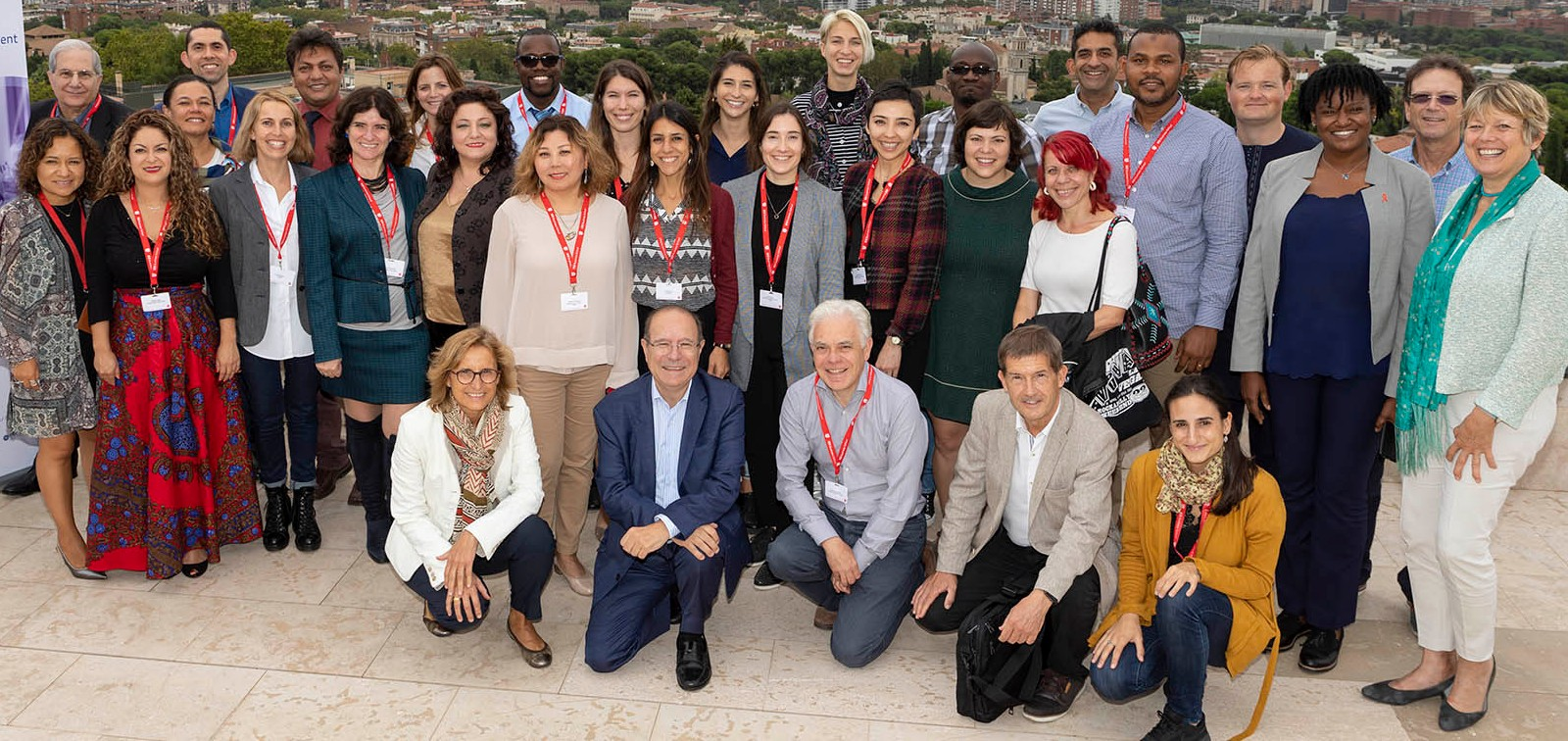 Participants in the fourth module of the SEP GHIM Programme, Barcelona