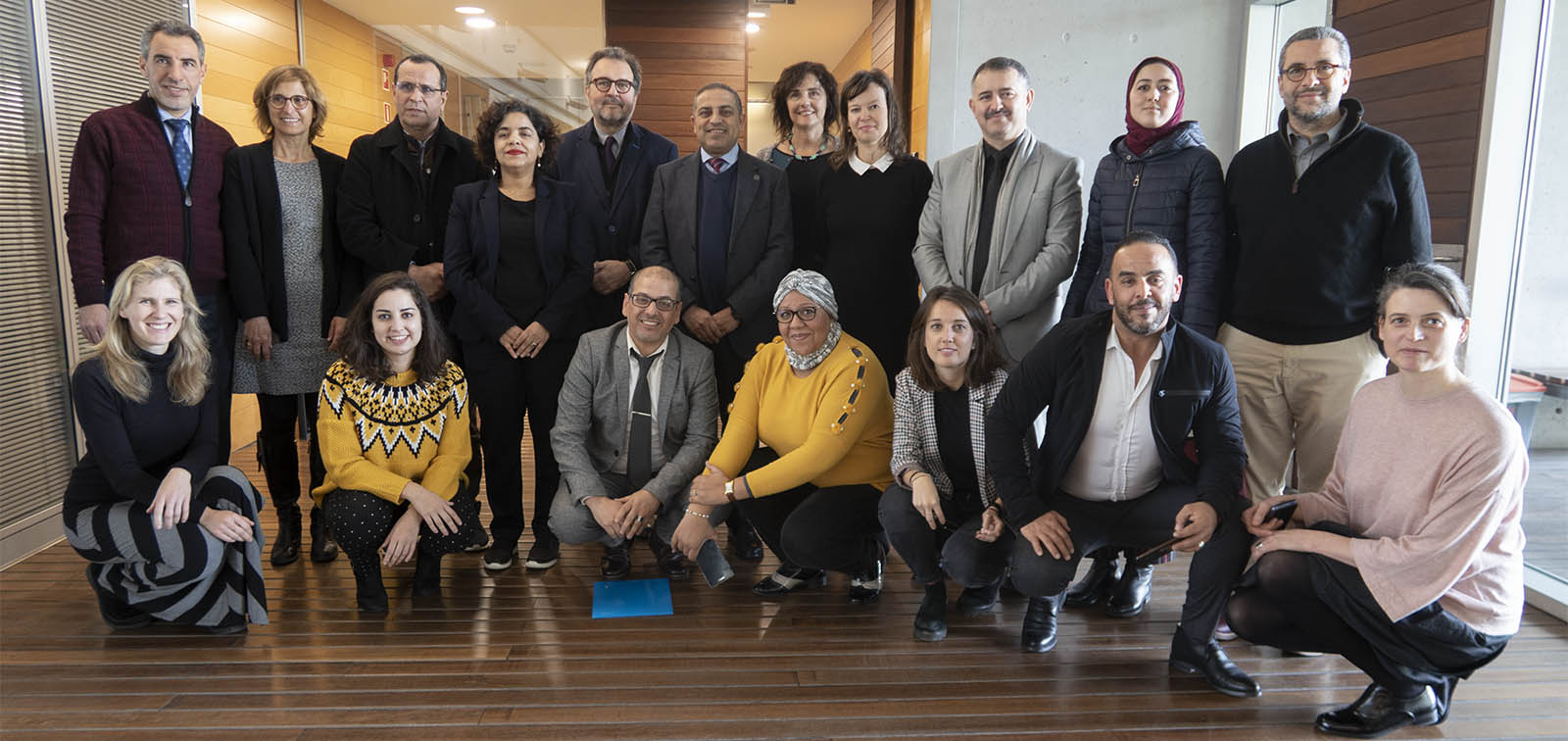 a high-level delegation from Morocco visits ISGlobal