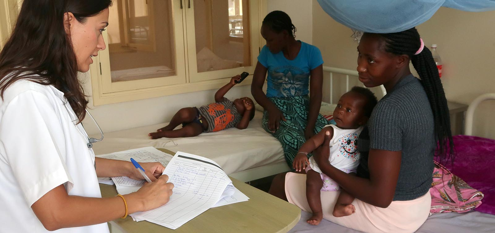 Medical care at the Paediatric Unit of the Manhiça Hospital, Mozambique