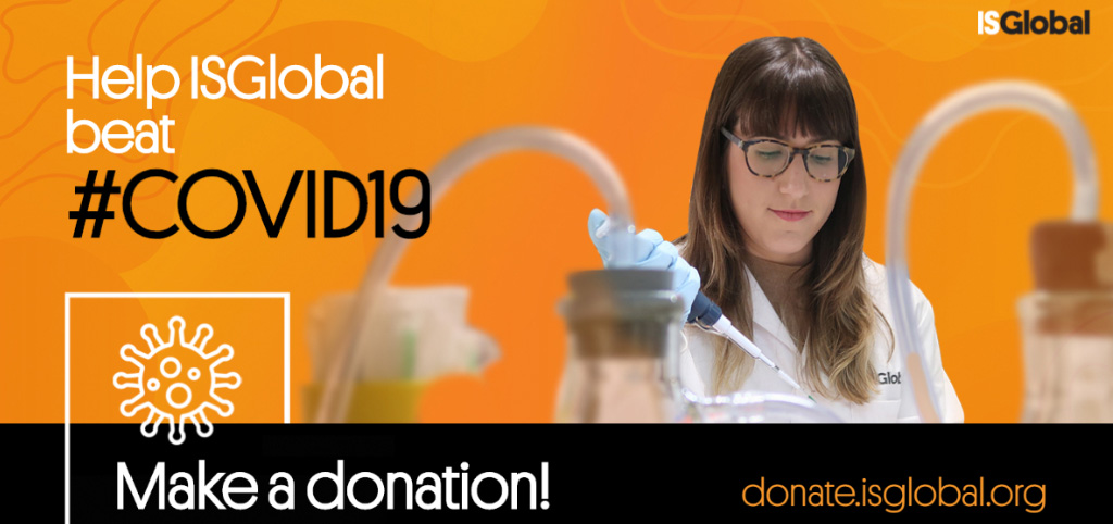 Support our research against COVID-19. Donate here!