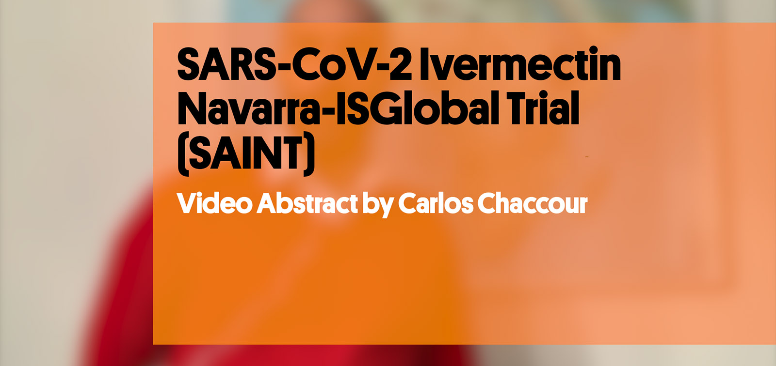 SAINT: A Pilot Study to Evaluate the Potential of Ivermectin to Reduce COVID-19 Transmission