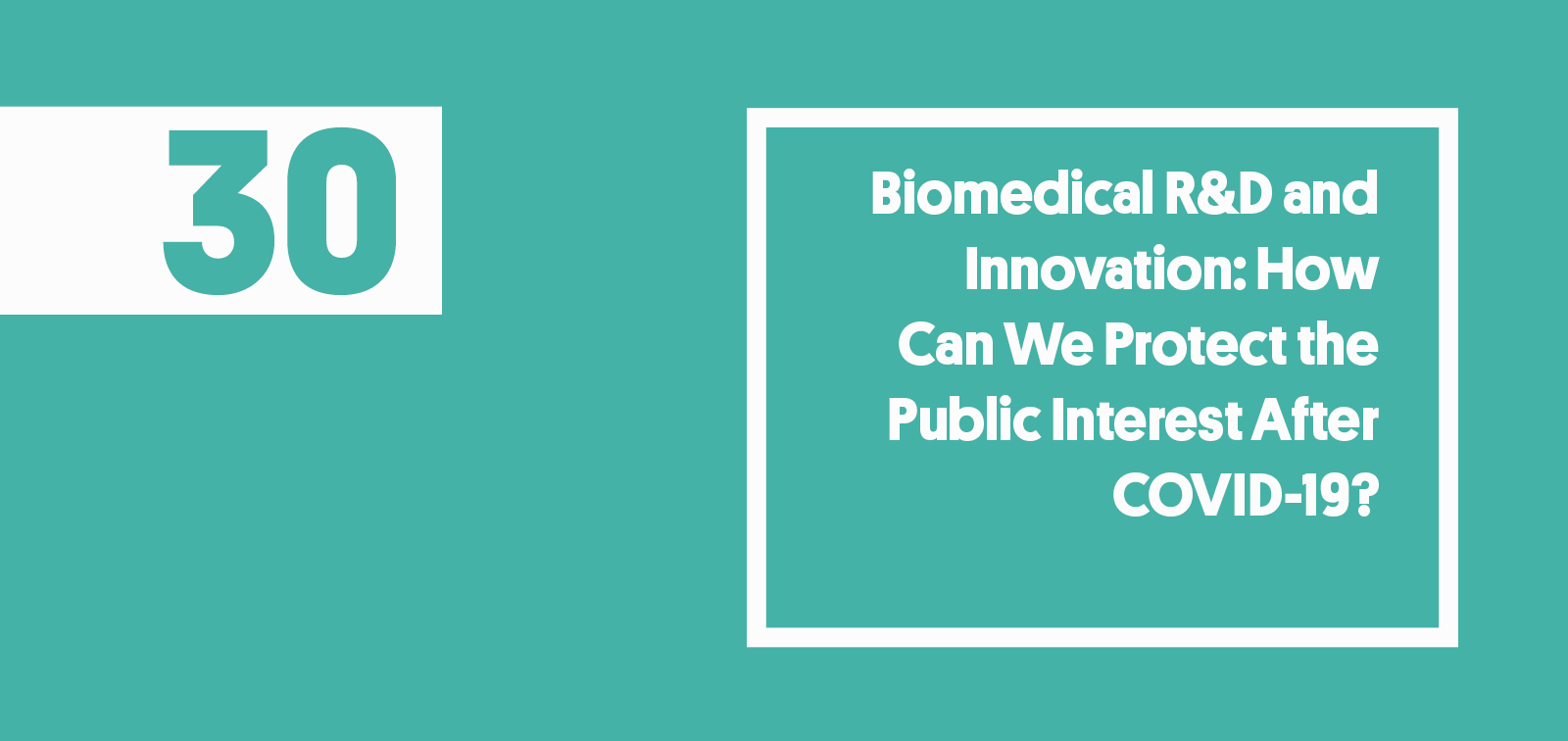 ISGlobal Biomedical R&D Innovation COVID